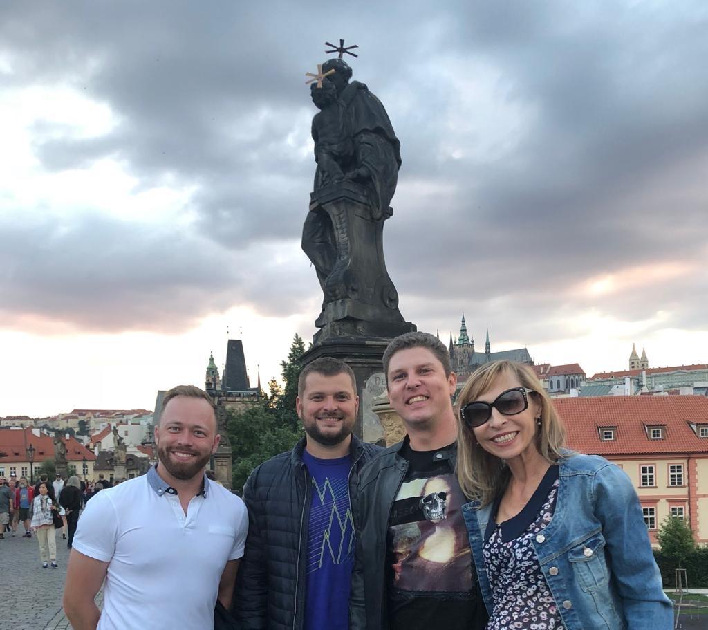 Slovenská partia na Karlovom moste